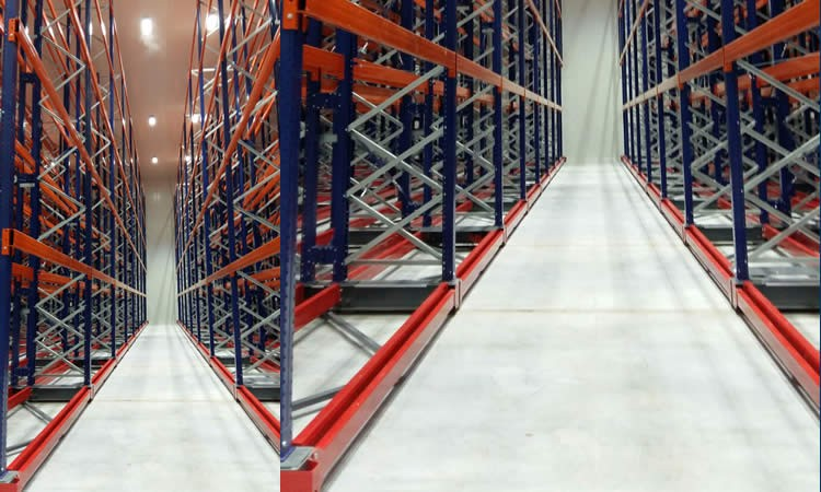 Case Study: Mobile base pallet racking project