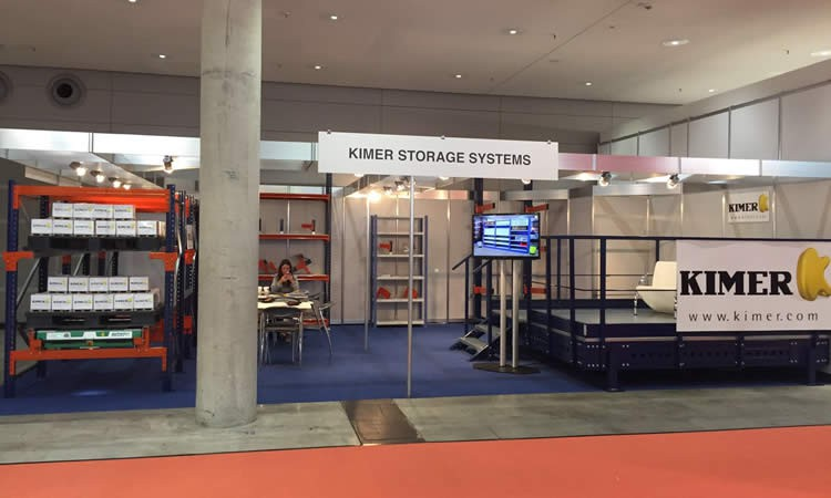 Kimer showed at LogiMAT 2016 its solutions to the international market