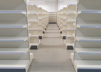 Shop Fitting Shelving