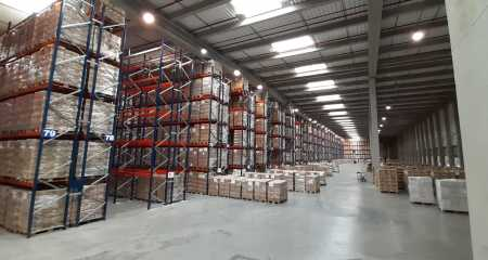 Kimer completes a leading Project of pallet racking
